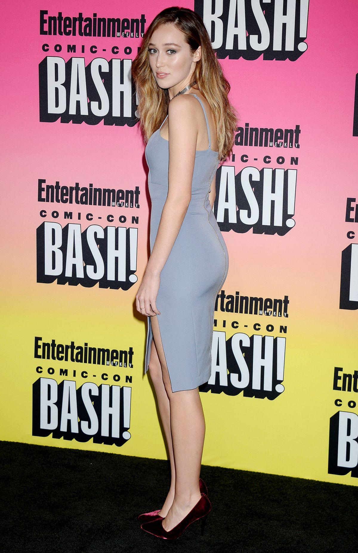 ALYCIA DEBNAM-CAREY at Entertainment Weekly