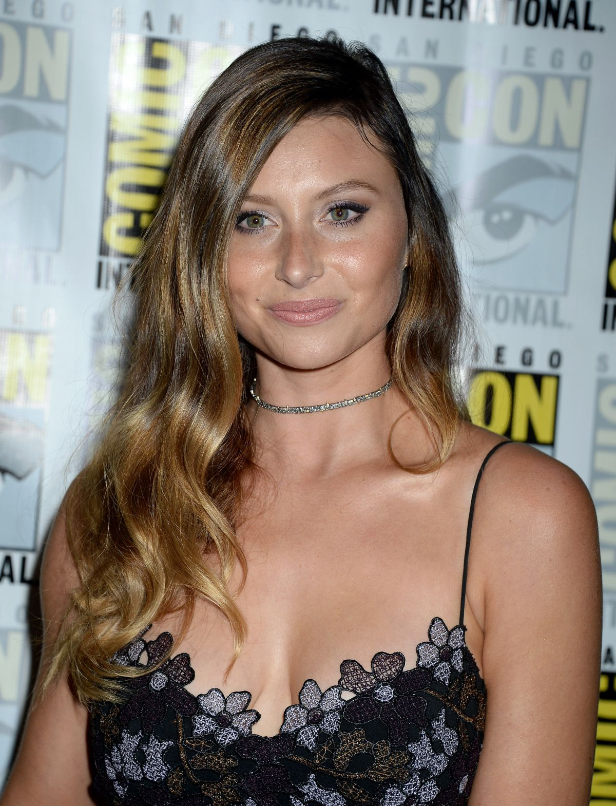 ALYSON ALY MICHALKA at Izombie Press Line at Comic-con in San Diego 07/22/2016