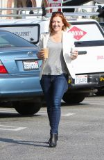 ALYSON HANNIGAN Out Shopping in Brentwood
