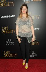 AMBER TAMBLYN at 'Cafe Society' Premiere in New York 07/13/2016