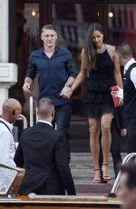 ANA IVANOVIC and Bastian Schweinsteiger Out for Dinner in Venice 07/1/2016