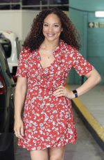 ANGELA GRIFFIN at ITV Studios in London 07/01/2016