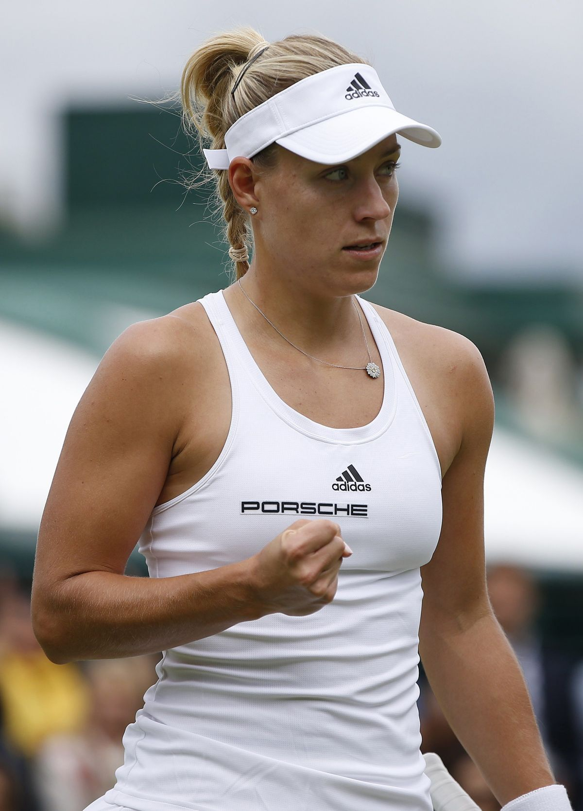 ANGELIQUE KERBER at 2nd Tound of Wimbledon Tennis Championships in London 06/30/2016