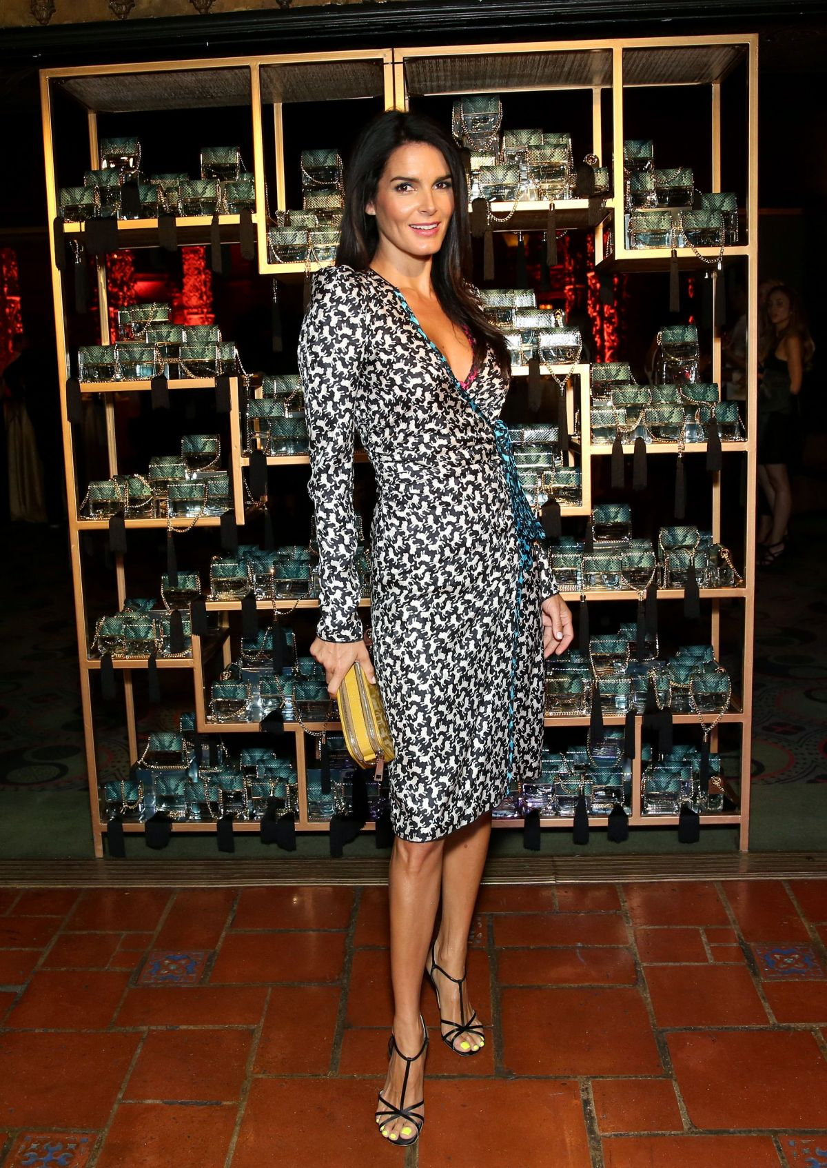ANGIE HARMON at Marc Jacobs Divine Decadence Fragrance Dinner in Los Angeles 07/21/2016