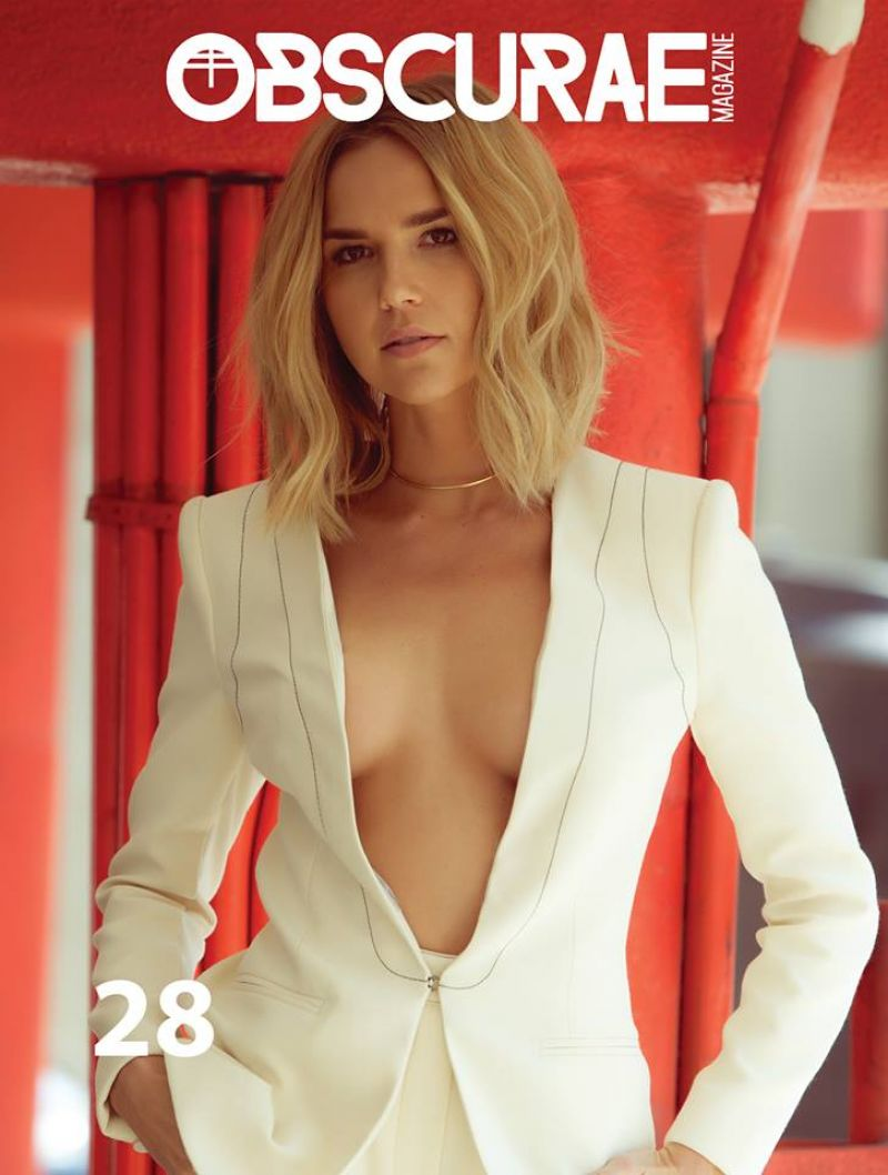 ARIELLE KEBBEL in Obscurae Magazine