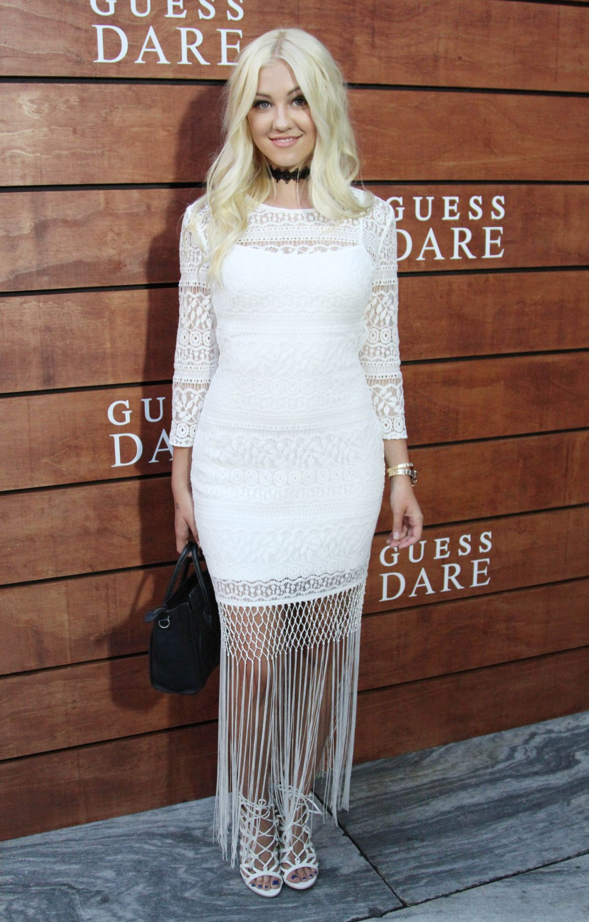AVA SAMBORA at Guess Dare + Double Dare Fragrance Launch in West Hollywood 07/27/2016
