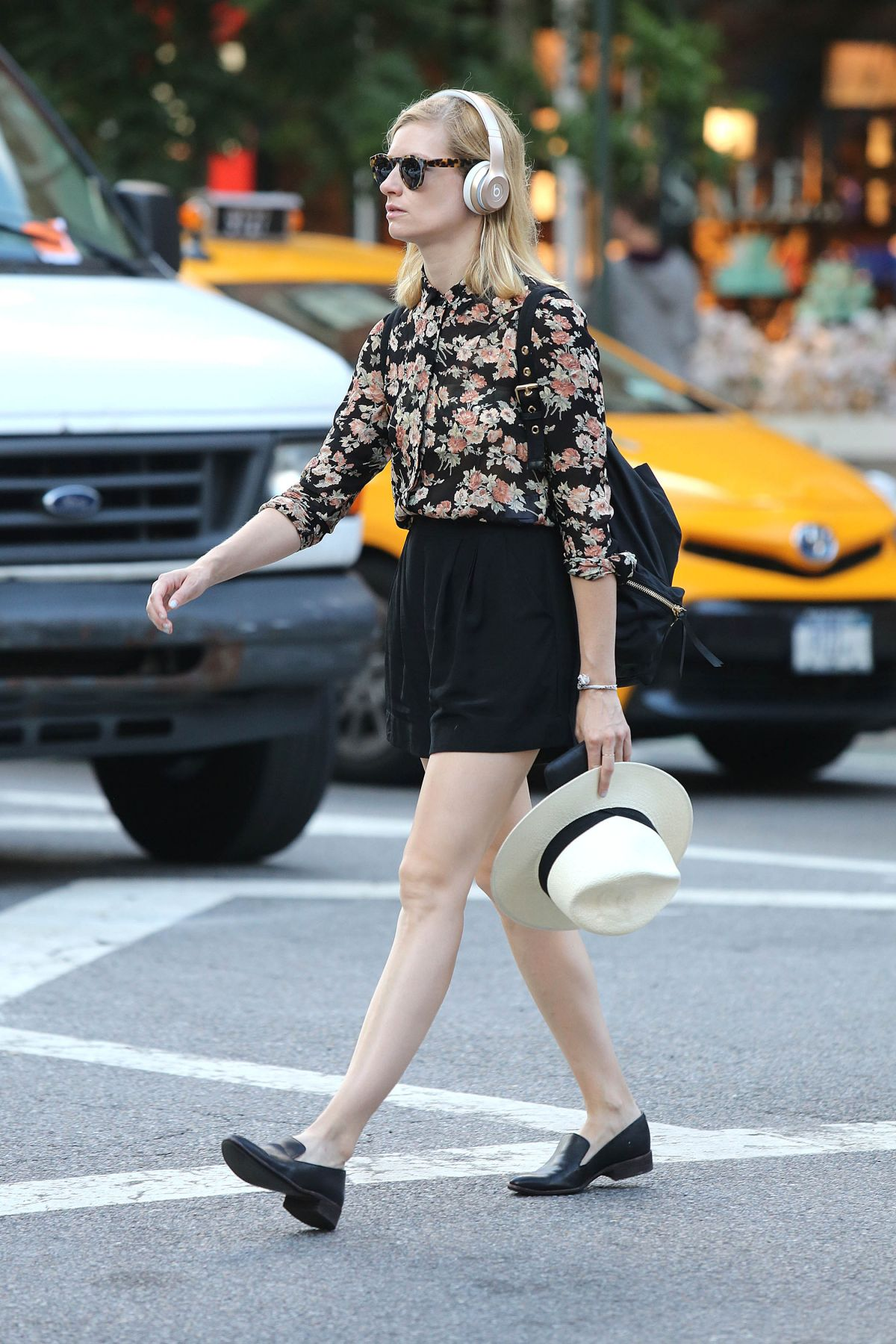 BETH BEHRS Out and About in New York 06/30/2016