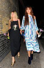 BETTY BACHZ and KARA ROSE MARSHALL Leaves Orangina Shake La Vie Launch Party in London 07/27/2016