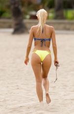 BRI and KATIE TERESI in Bikinis at a Beach in Malibu 06/30/2016