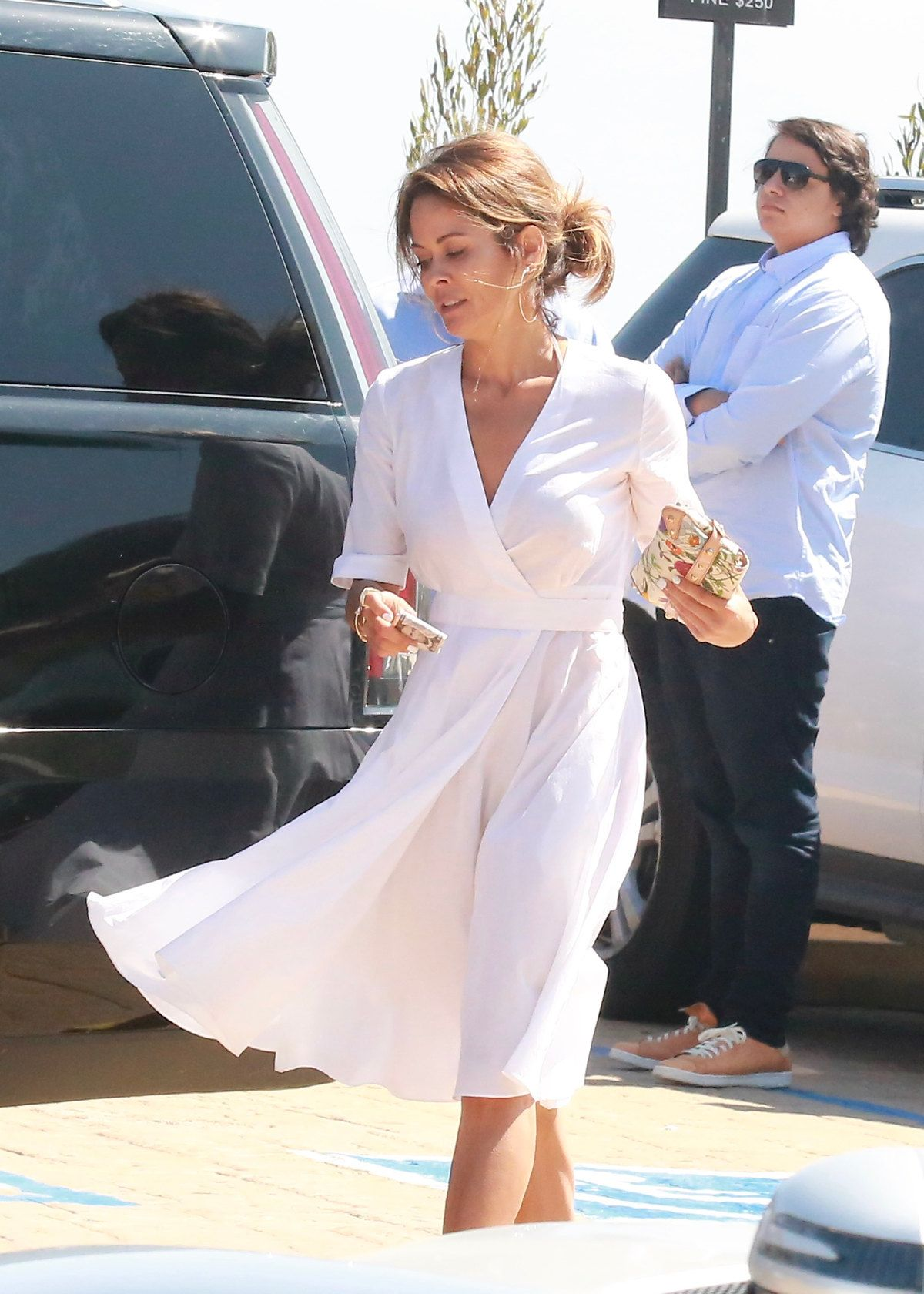 BROOKE BURKE Out And About In Malibu 07/07/2016