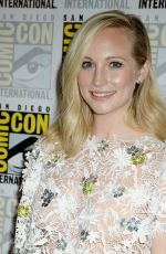 CANDICE ACCOLA at Comic-con International 2016 in San Diego 07/23/2016