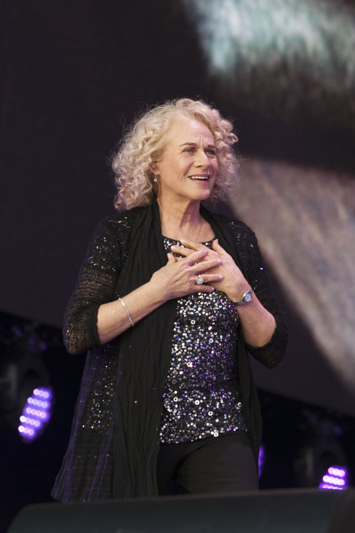 CAROLE KING Performs at British Summertime Festival at Hyde Park in London 07/02/2016
