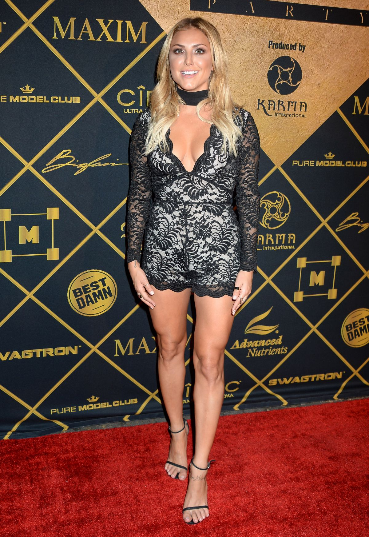 Actress and dancer Cassie Scerbo, 27, at 2016 Maxim Hot 100 Party in Los Angeles