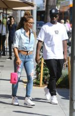 CASSIE VENTURA and P. Diddy Out in Beverly Hills - july 6, 2016