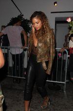 CASSIE VENTURA Leaves Warwick Nightclub in West Hollywood 06/29/2016