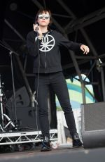 CHANNY LEANEAGH Performs at British Summertime Festival at Hyde Park in London 07/02/2016
