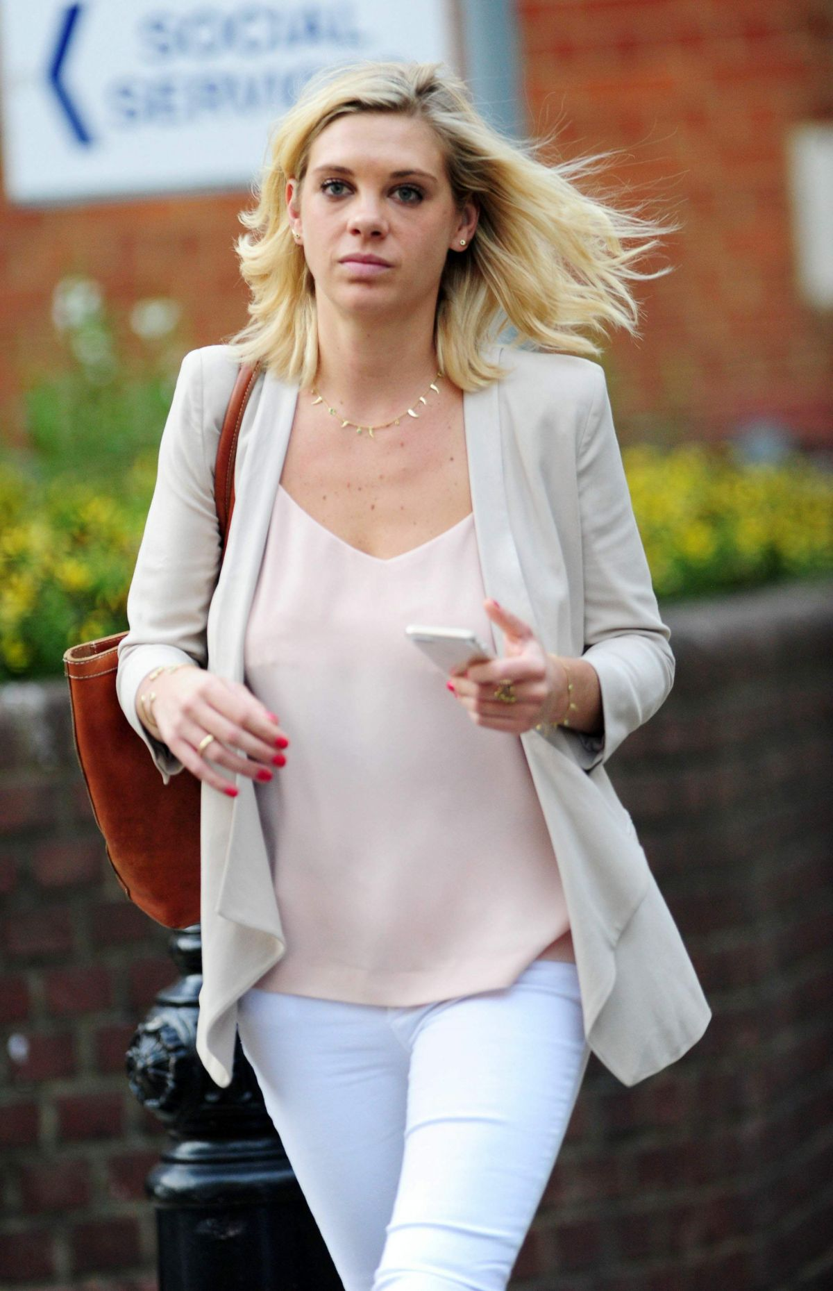 CHELSY DAVY at Ivy Garden in Chelsea 07/21/2016