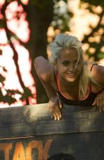 CHLOE PAIGE at Urban Attack Assault Course on in London 07/18/2016