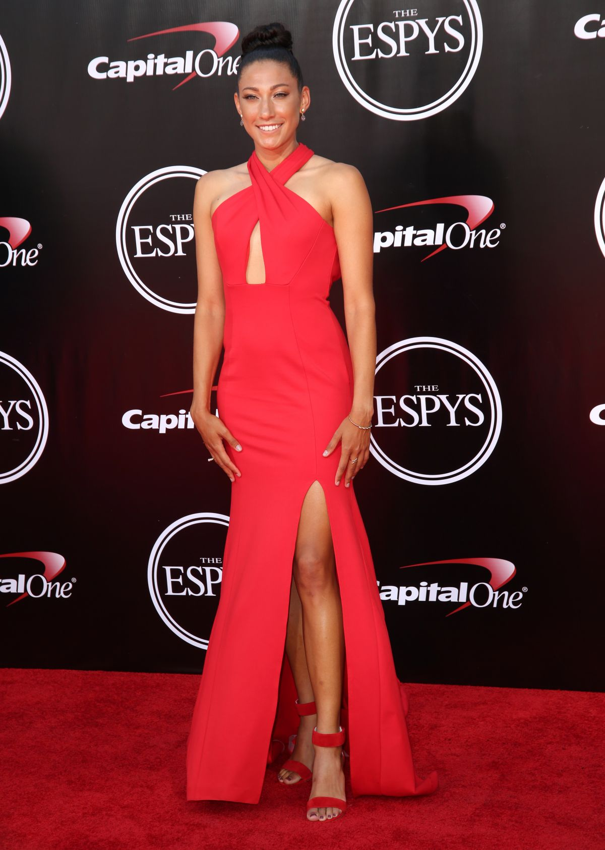 CHRISTEN PRESS at 2016 espys in Los Angeles 07/13/2016