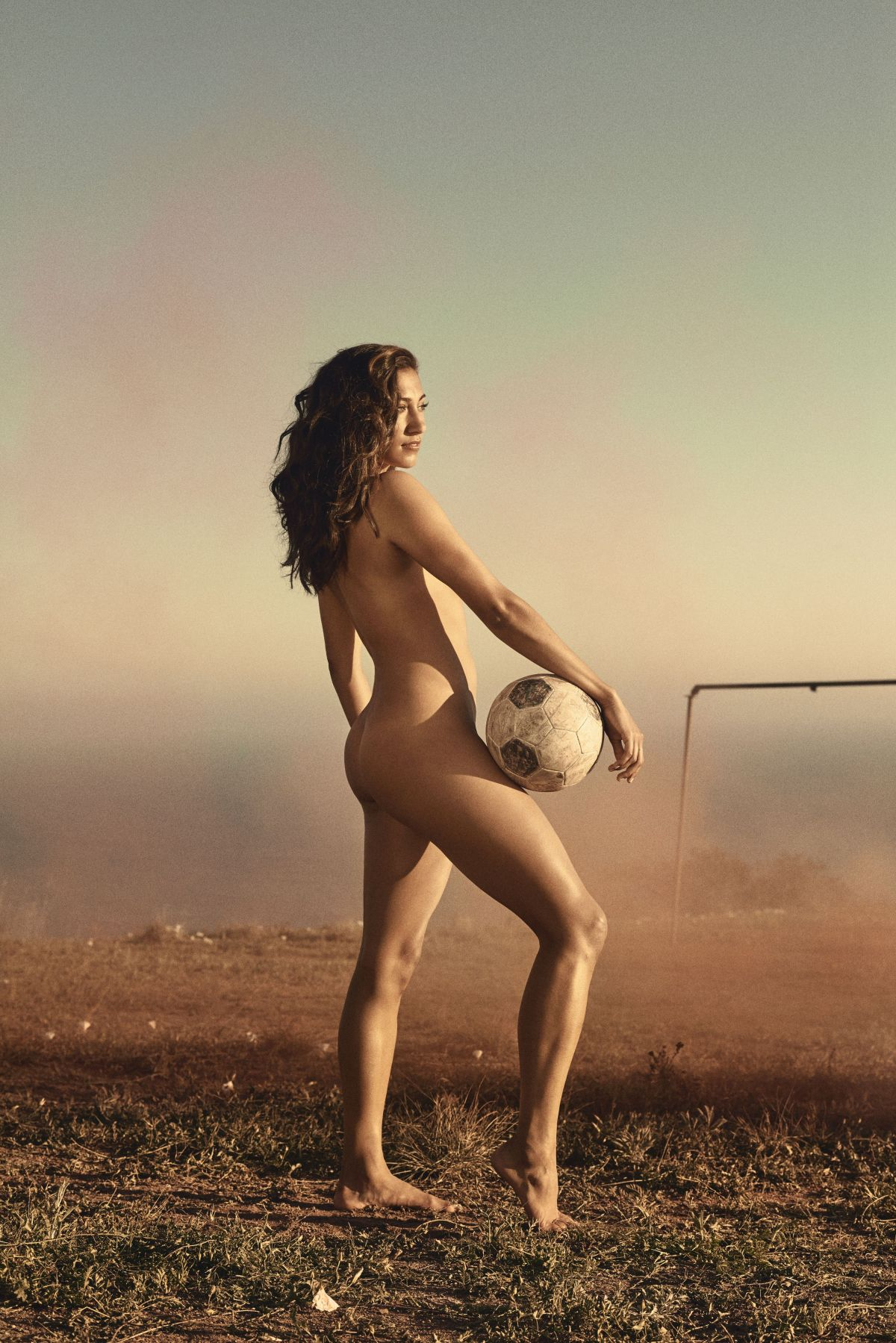 CHRISTEN PRESS in ESPN: The Body Issue, 2016