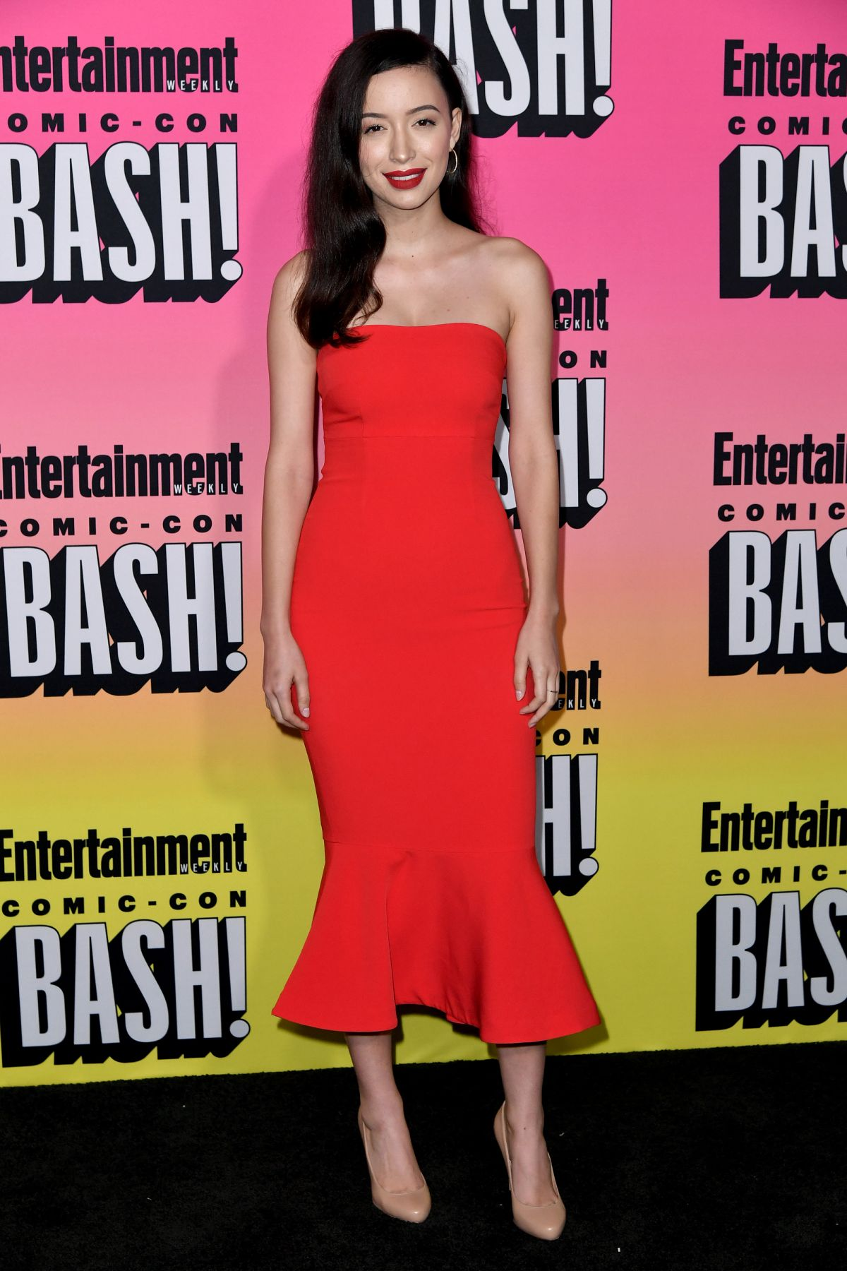 CHRISTIAN SERRATOS at Entertainment Weekly