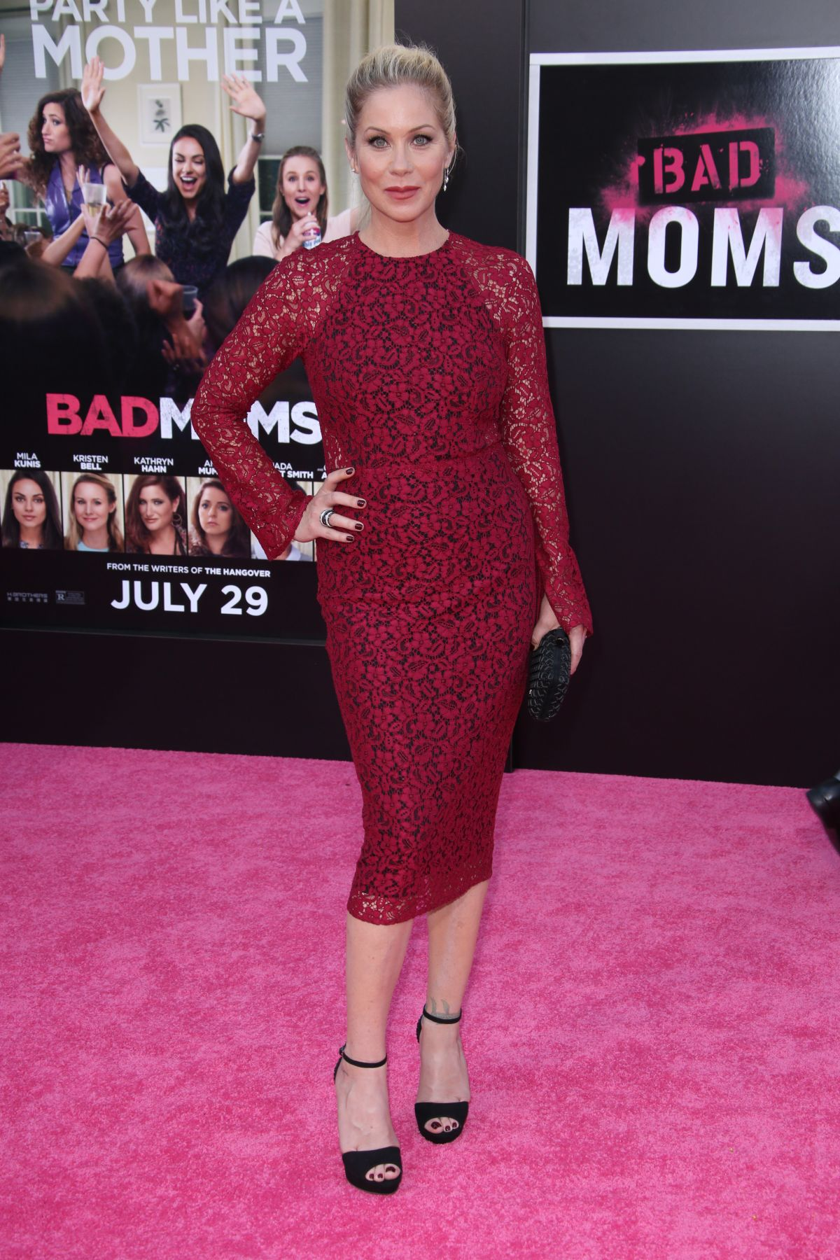 CHRISTINA APPLEGATE at 'Bad Moms' Premiere in Los Angeles 07/26/2016