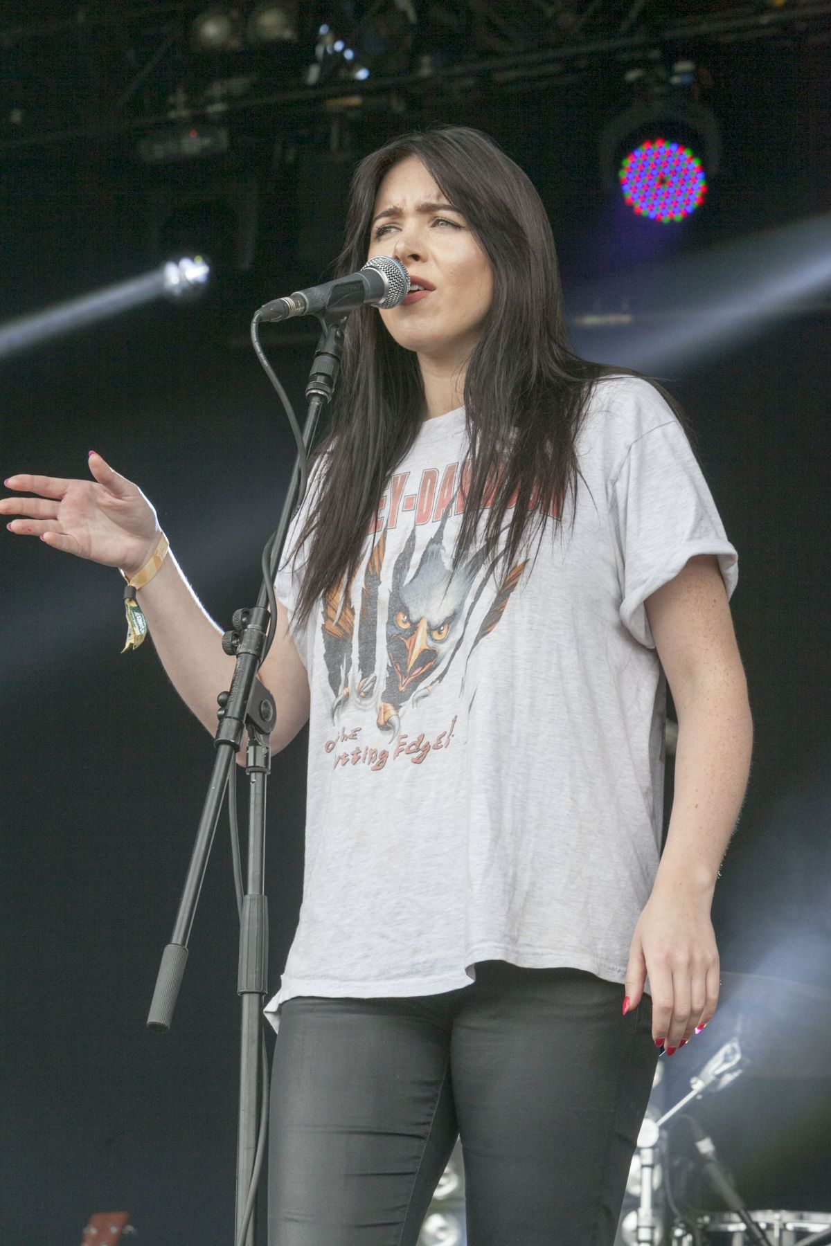 CLAIRE MAGUIRE Performs at British Summertime Festival at Hyde Park in London 07/02/2016