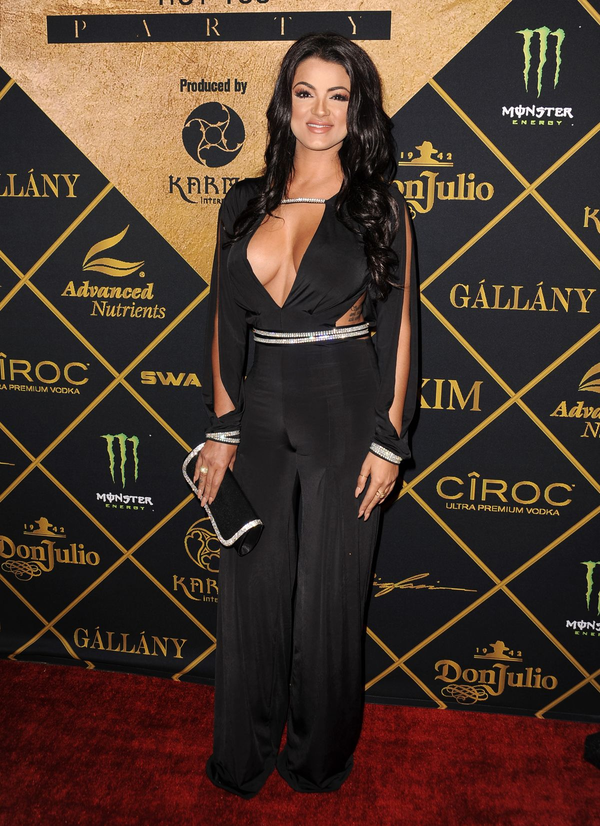 COLONESA GG GHARACHEDAGHI at 2016 Maxim Hot 100 Party in Los Angeles 07/30/2016