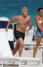 DANIELA OSPINA in Bikini at a Beach in Miami 06/30/2016