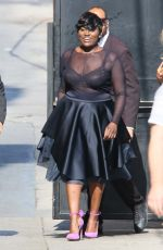 DANIELLE BROOKS Arrives at Jimmy Kimmel Live in Hollywood 06/29/2016