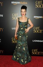 DEBI MAZAR at 'Cafe Society' Premiere in New York 07/13/2016