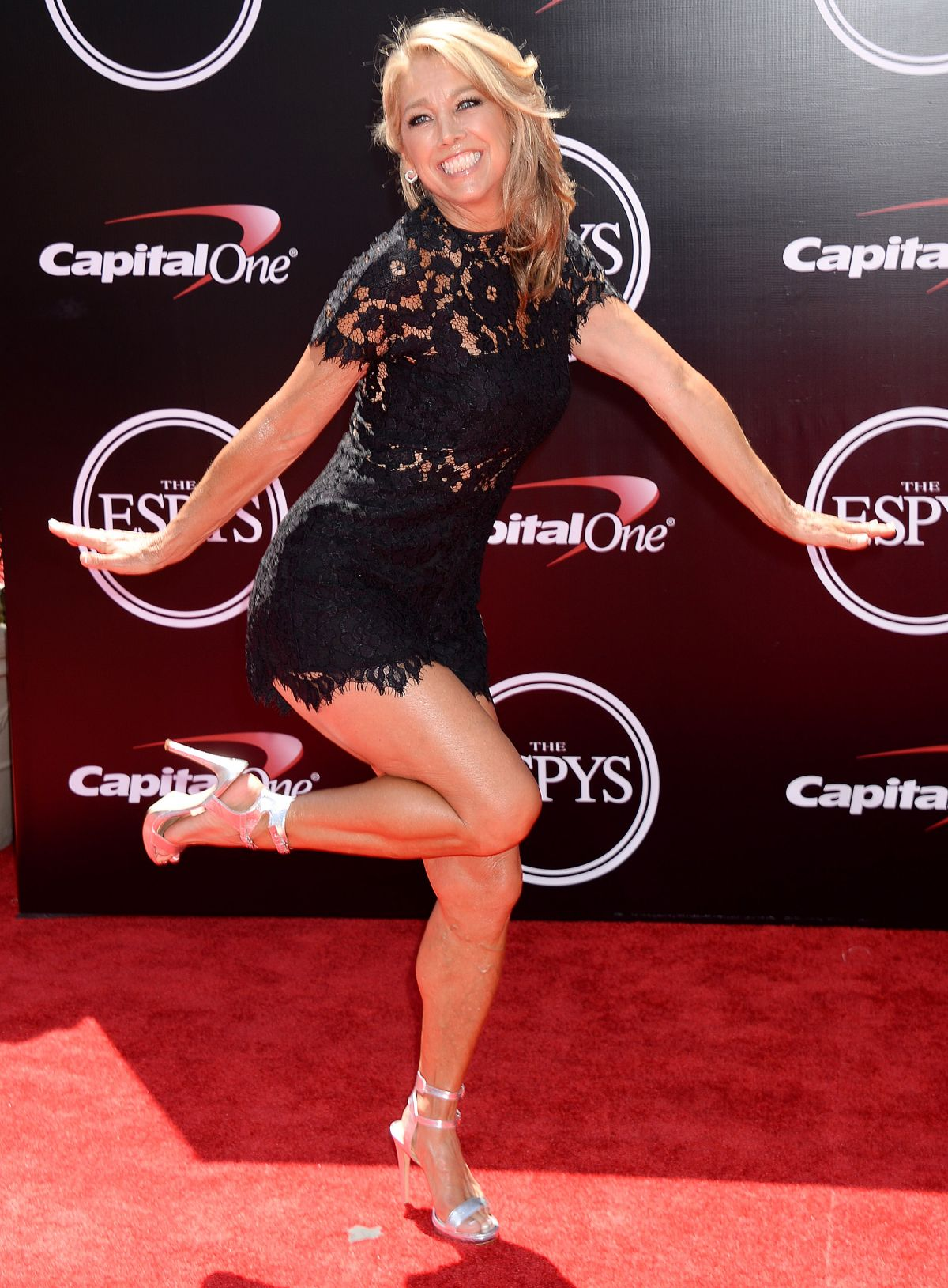 DENISE AUSTIN at 2016 espys in Los Angeles 07/13/2016