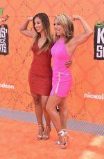 DENISE AUSTIN at Nickelodeon Kids Choice Sports Awards 07/14/2016