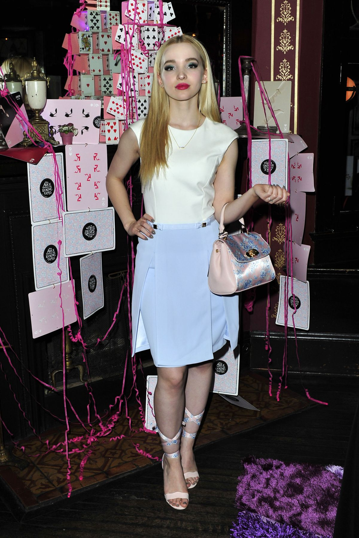 DOVE CAMERON at Call It Spring Hosts Private Event at Staples Center in Los Angeles 07/08/2016