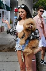 DURRANI POPAL Out and About in Santa Monica 06/28/2016