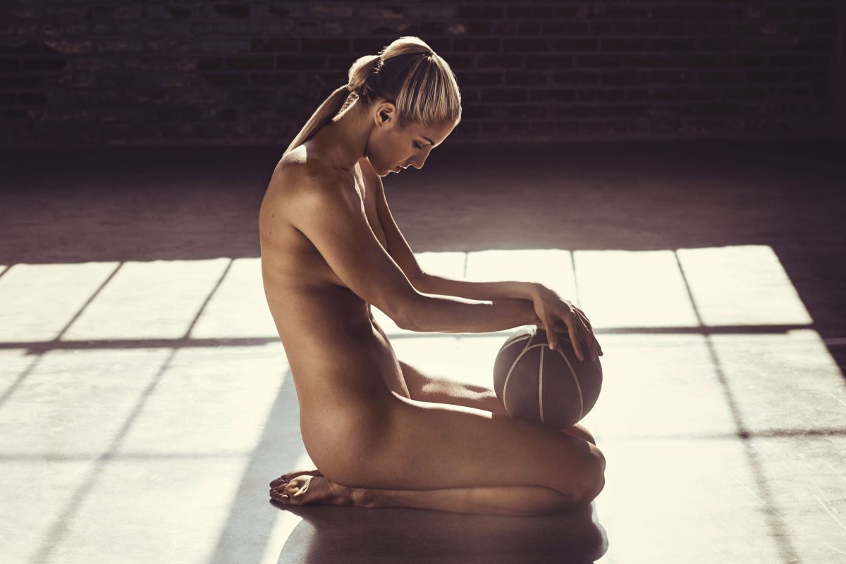 ELENA DELLE in ESPN Magazine: The Body Issue July