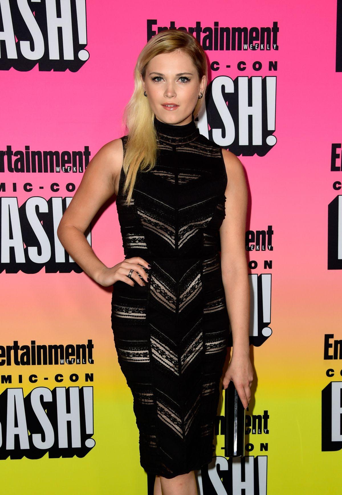 ELIZA TAYLOR at Entertainment Weekly