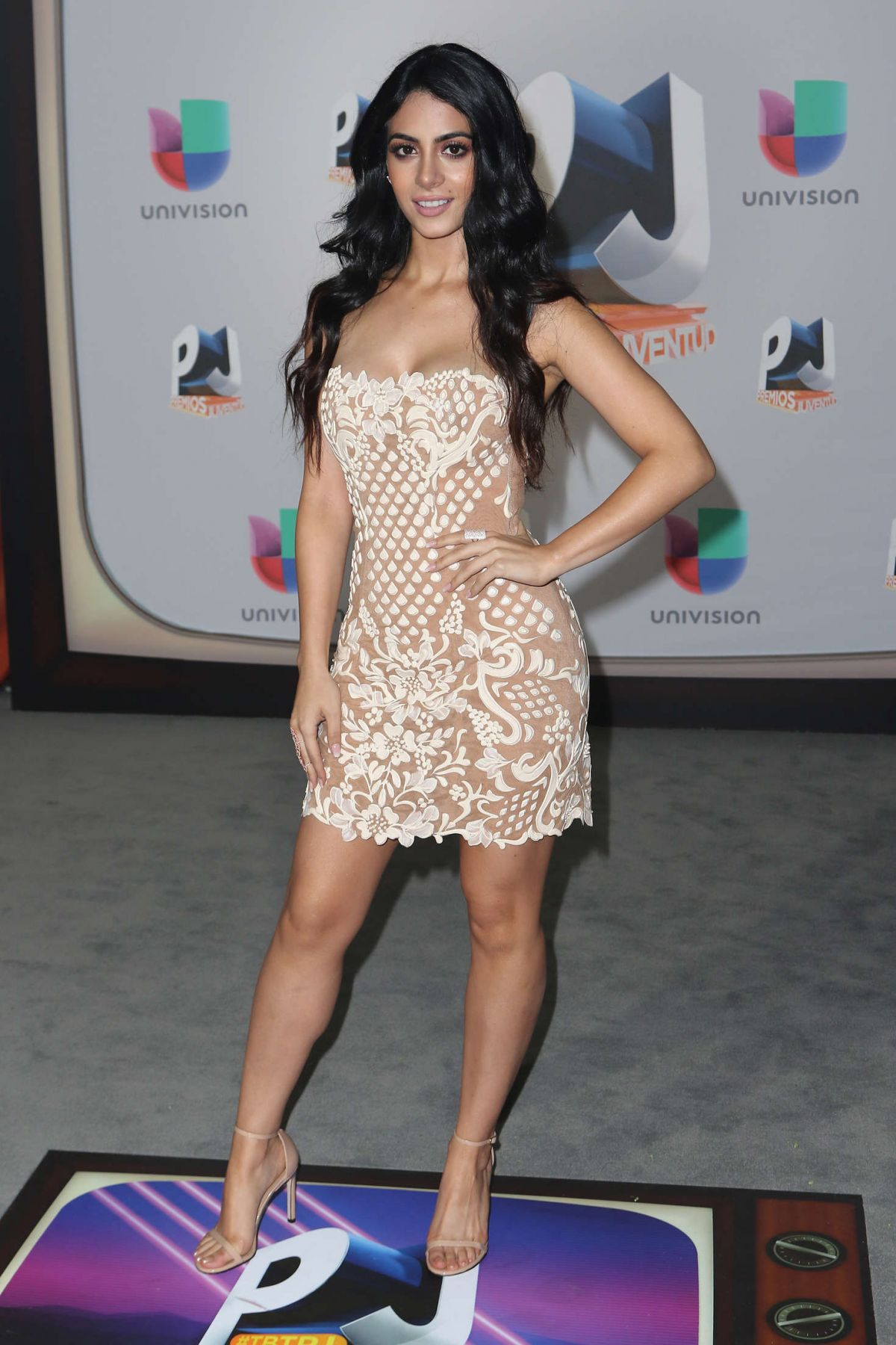 EMERAUDE TOUBIA at 2016 Premios Juventud Youth Awards in ...