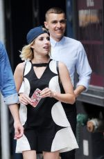 EMMA ROBERTS Out in New York 07/09/2016