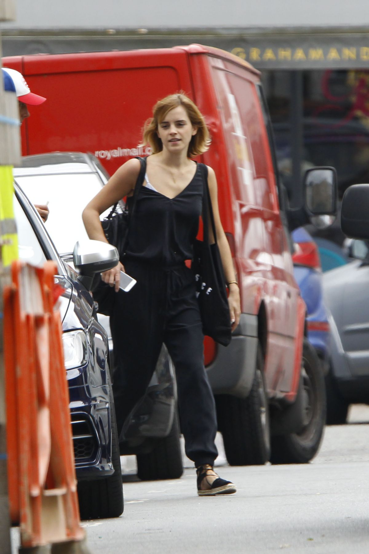 EMMA WATSON Out and About in London 07/04/2016