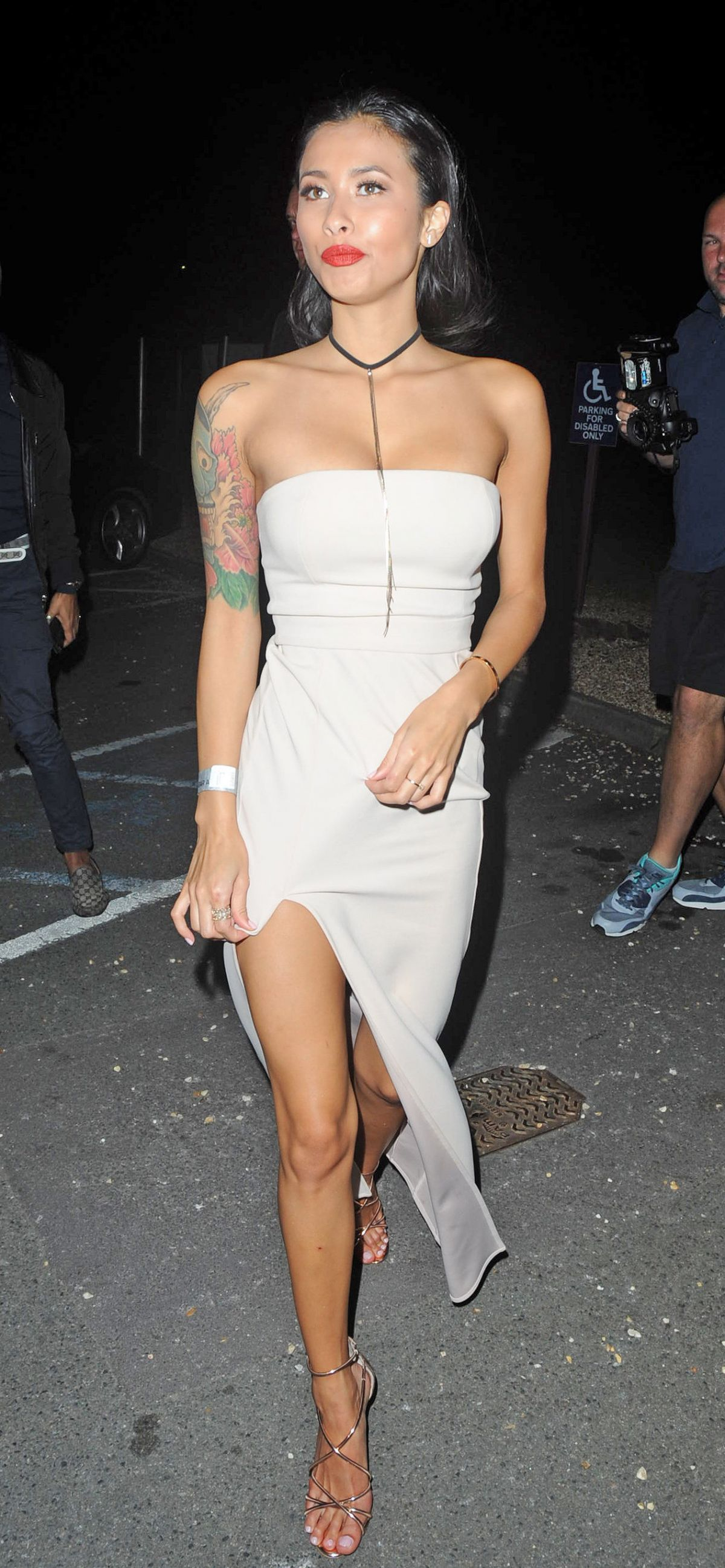 EVELYN ELLIS at Big Brother After Party in London 07/27/2016