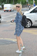 FIONA PHILLIPS Leaves ITV Studios in London 07/25/2016