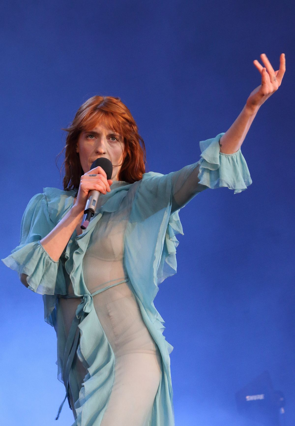 FLORENCE WELCH Performs at British Summertime Festival at Hyde Park in London 07/02/2016