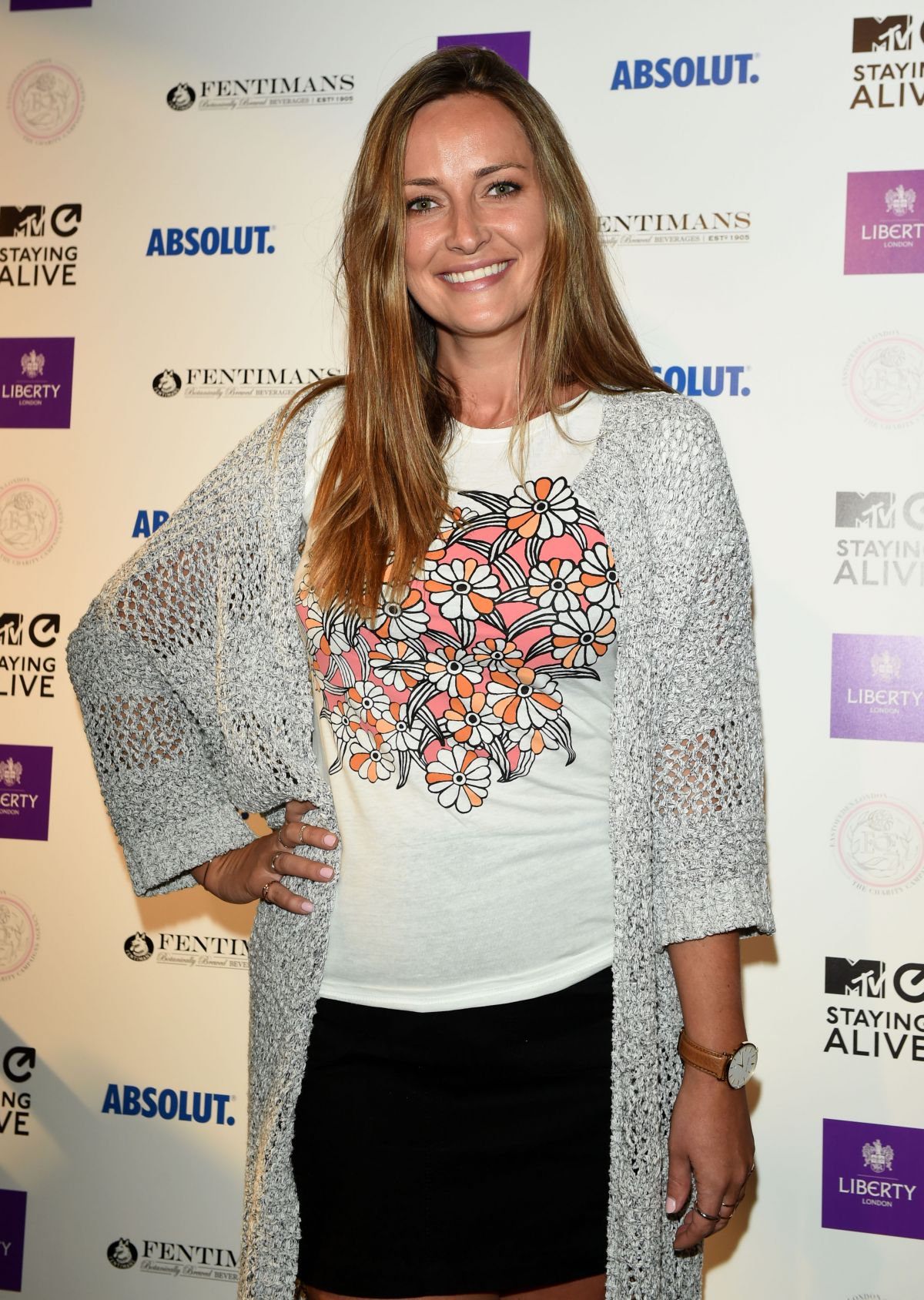FRANCESCA NEWMAN-YOUNG at MTV Staying Alive x Liberty London Cocktail Reception 07/13/2016