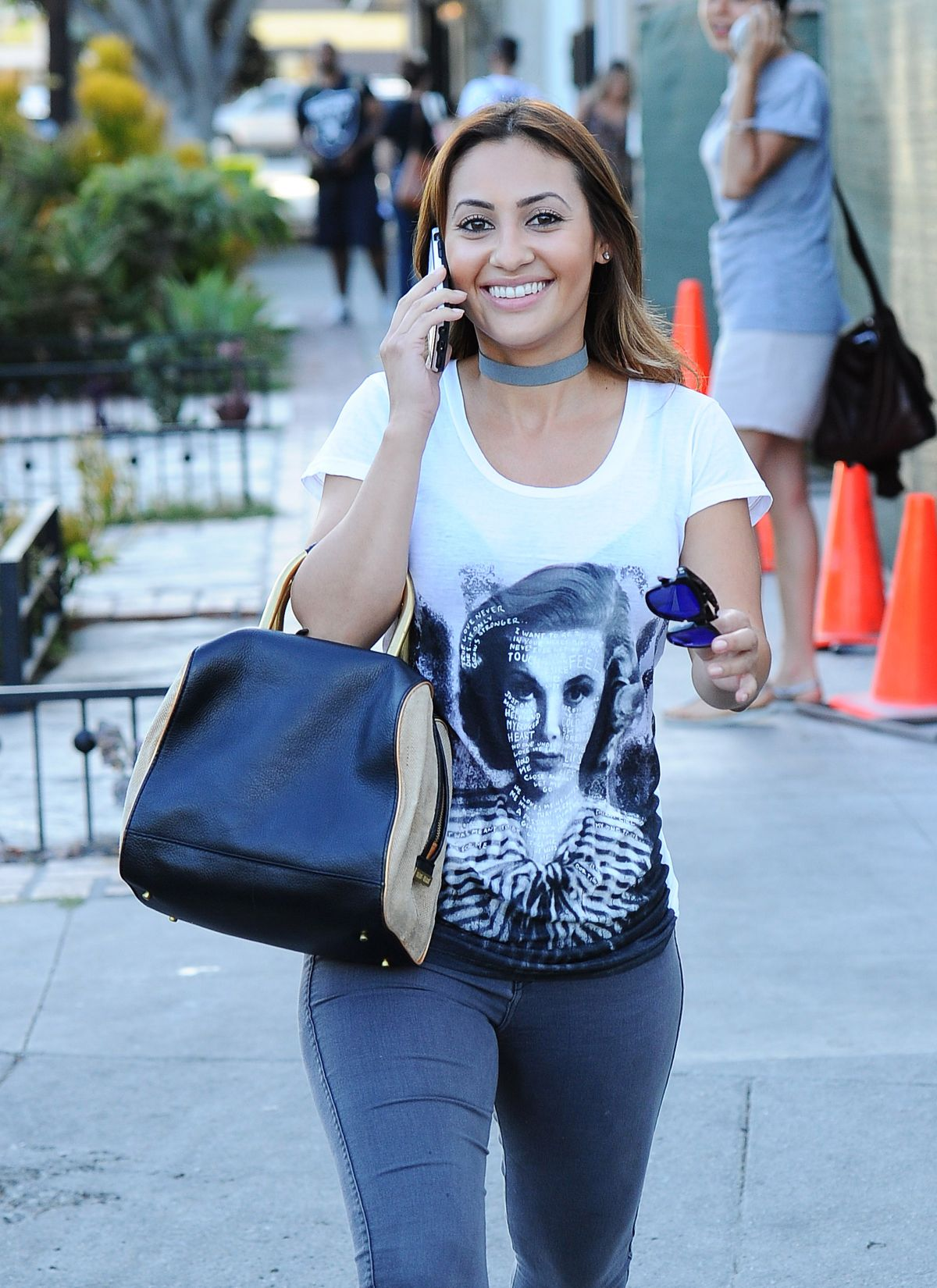 FRANCIA RAISA Out and About in Beverly Hills 07/13/2016
