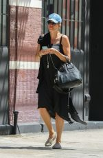 FREDERIQUE VAN DER WAL Out in New York 07/26/2016