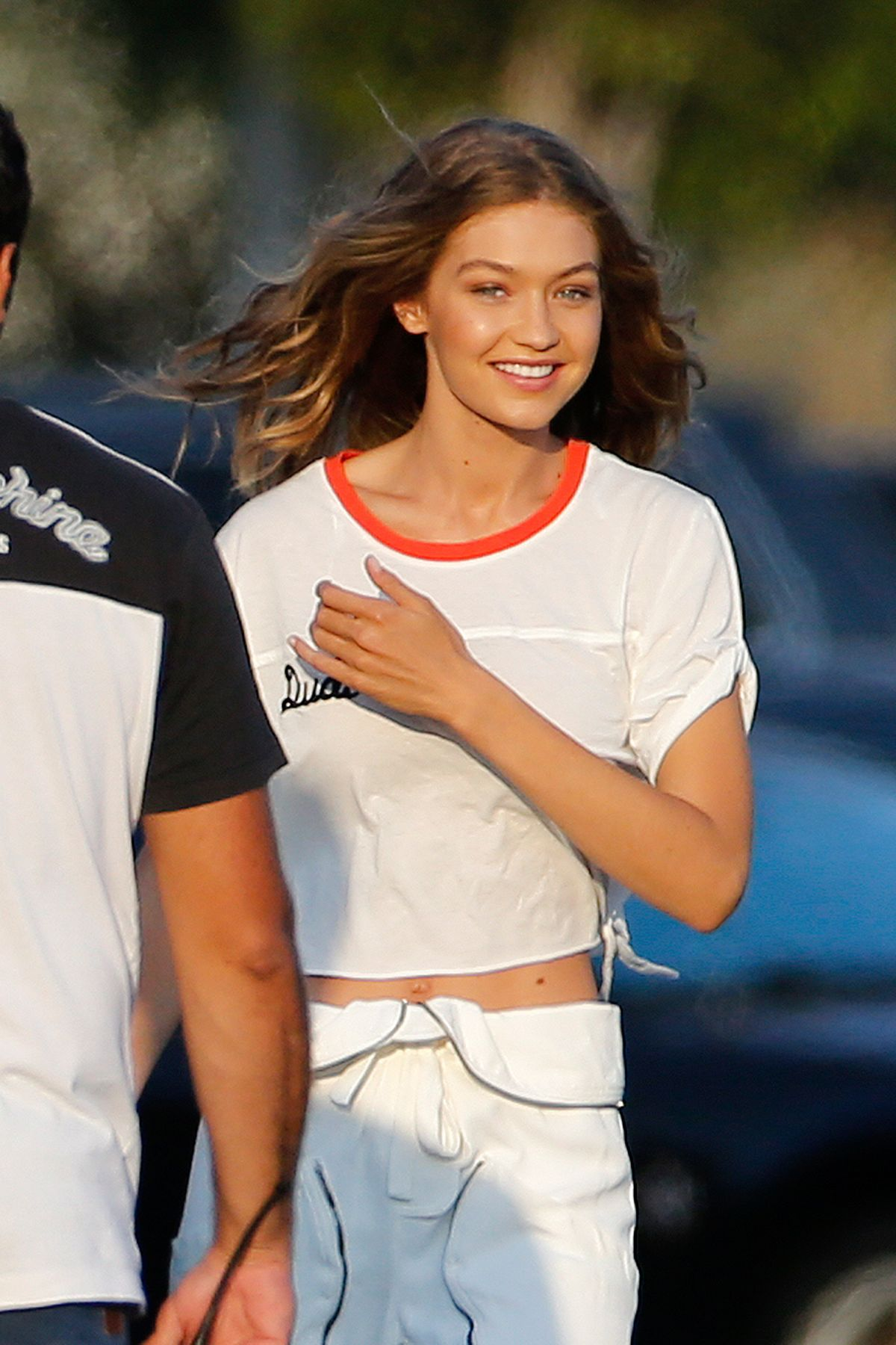 Gigi Hadid At A Photoshoot In Los Angeles 07 28 2016