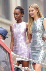 GIGI HADID on the Set of Maybelline Photoshoot in New York 07/18/2016