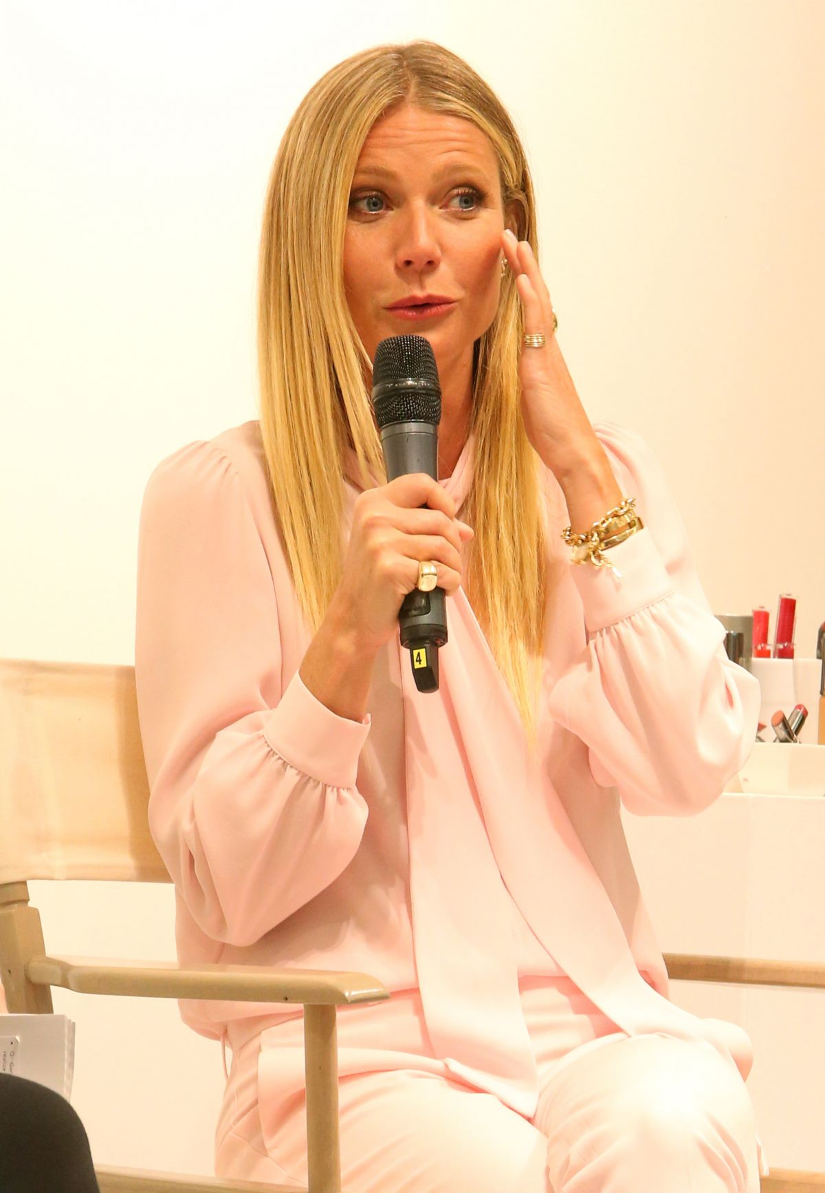 GWYNETH PALTROW Promotes Juice Beauty Makeup in Toronto 07