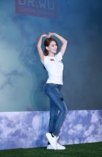 HANNAH QUINLIVAN at Dr Wu Charity Conference in Taipei 07/05/2016